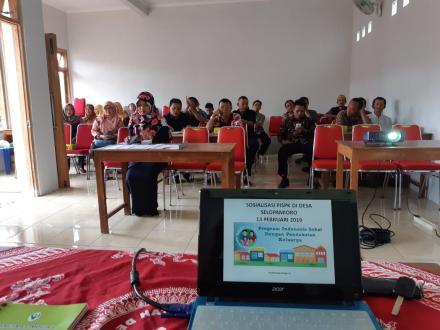 Sosialisasi Program Indonesia Sehat dengan Pendekatan Keluarga (PISPK) Puskesmas Imogiri 2