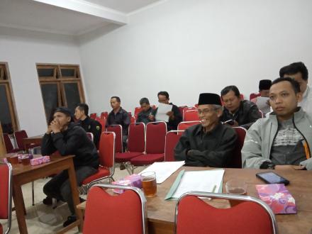 Koordinasi Desa Budaya Selopamioro untuk Evaluasi 11 April 2019