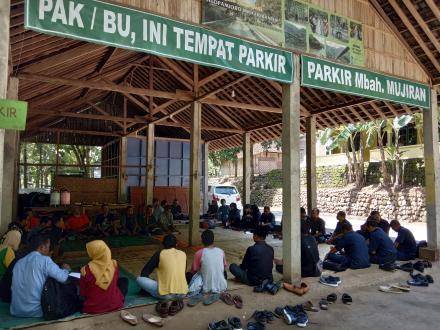 Komunitas Sungai Bantul ngumpul di Selopamioro Adventure Park