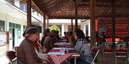 Verifikasi Desa Budaya Selopamioro oleh Dinas kebudayaan DIY