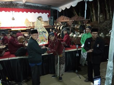 Bupati Bantul Menutup Rankaian Merti Dusun Srunggo