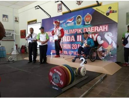 Basuki, Warga Lanteng 2, Raih Mendali Perak dalam Paralimpik Porda DIY 2019