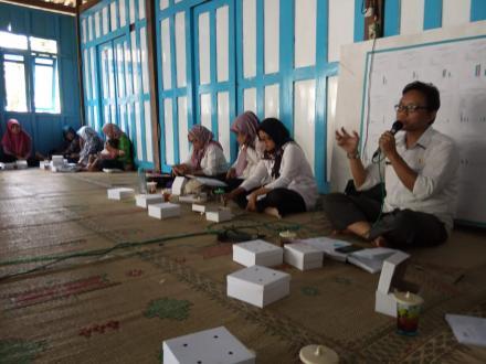 DLH Memberikan Materi Pengelolaan Sampah di kampung KB Nogosari