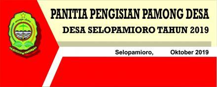 Sosialisasi Pengisian Pamong Desa di Dusun Srunggo 2