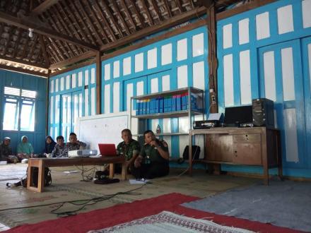 Loka Karya Mini Kampung KB Nogosari bersama Danramil Pangestu dan Puskesmas Imogiri 2