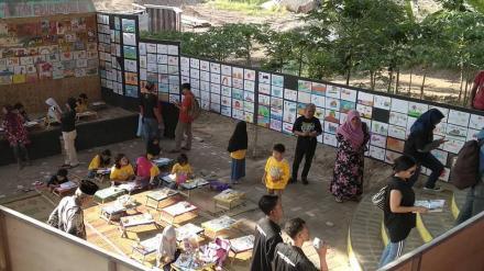 Pameran Sewu Lukisan Anak di JES sampai dengan 2 Nopember 2019