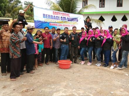 Lagi, Bakti Sosial Air Bersih ke Kalidadap 2 dari Alumni SMA Muhiba Bantul
