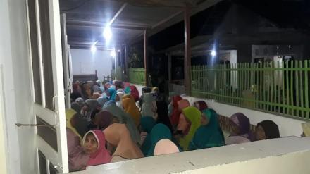 Mujahadah Rutin Jumat Pahing di Srunggo Bersama KH Muslih dari Giriloyo