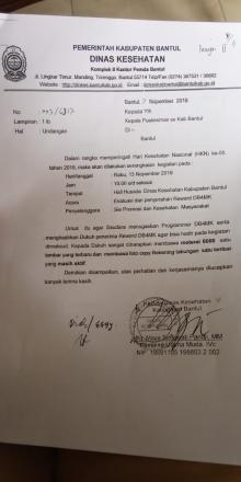 9 Dusun Selopamioro Mendapat Reward DB4MK