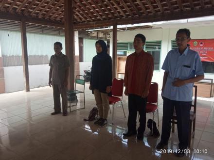 Gladi Bersih Pelantikan Dukuh Srunggo 2 dan Putat