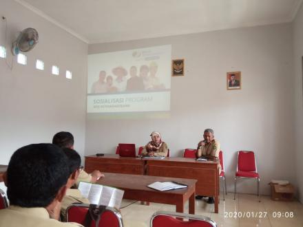 Sosialisasi BP Jamsostek kepada Pamong Desa Selopamioro