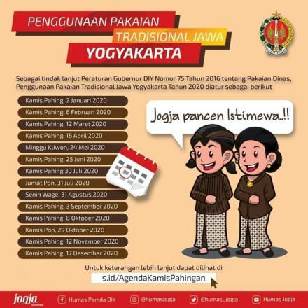 Kamis Pahingan untuk Kestimewaan Yogyakarta