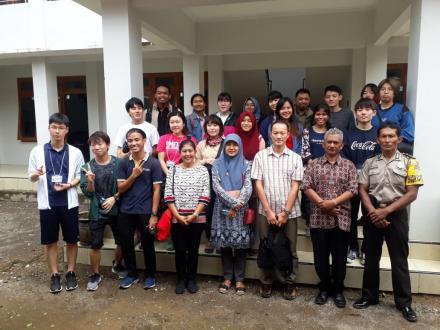 Penerimaan Mahasiswa Jepang di Balai Desa Selopamioro