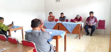 Evaluasi Lomba Desa dan Koordinasi Tanah Kas Desa