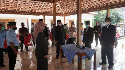 Sertijab Lurah PAW Kalurahan Selopamioro s.d. 2024